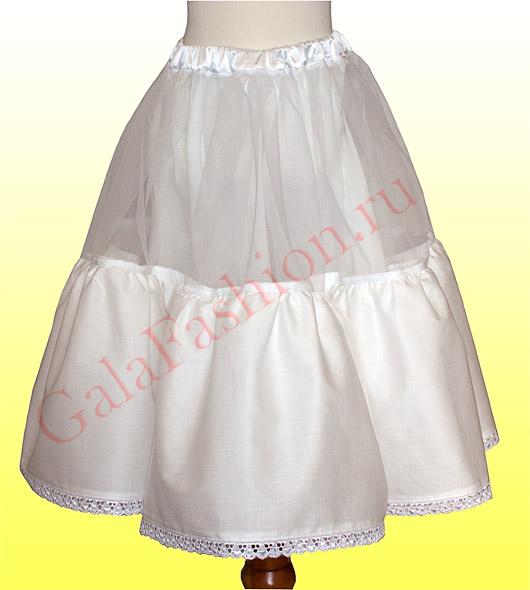 Как сшить нижнюю юбку к платью 431