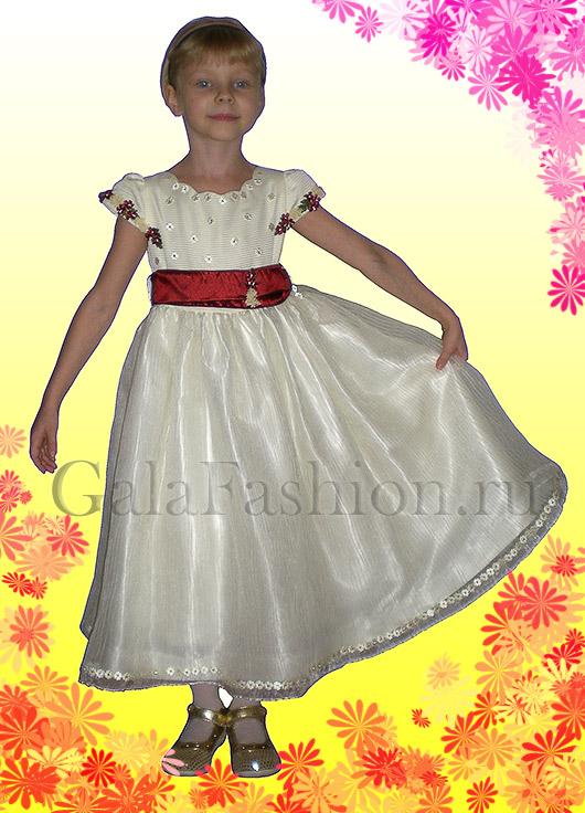 Детское нарядное платье италия