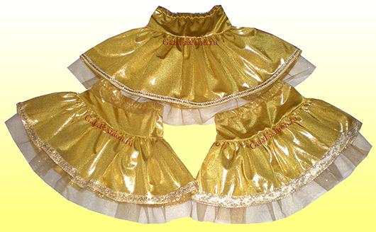 Заказать пошив детской юбки золотое