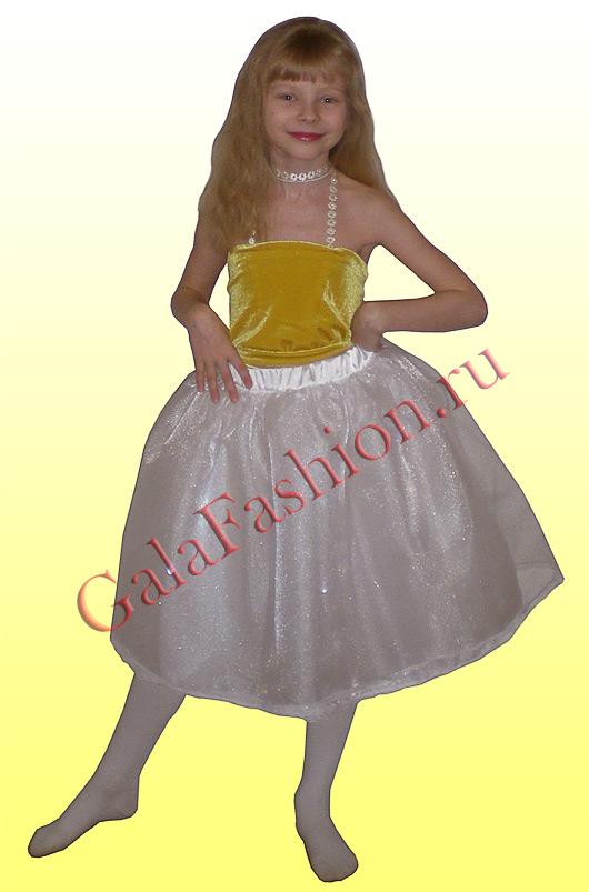 Как сшить бальную юбку девочке 67
