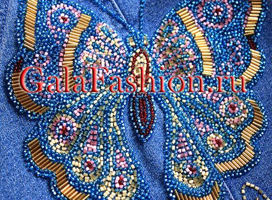 Рисунки для вышивки на джинсах бисером